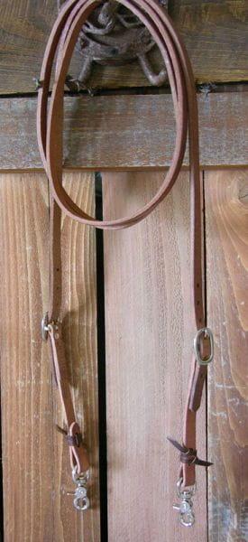 Harness Trail/Roping Rein längenverstellbar
