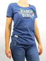 OSWSA Ranchgirl T-Shirt Luisa stoneblue