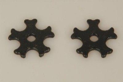 Sporenrädchen 5fach schwarz