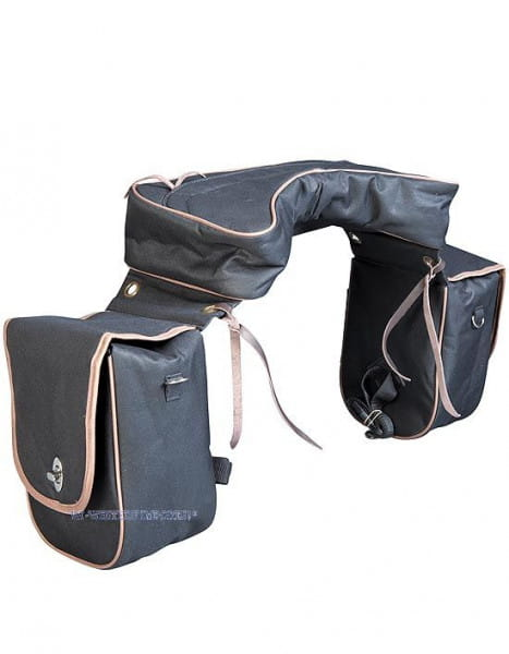 Satteltasche mit Cantle Bag