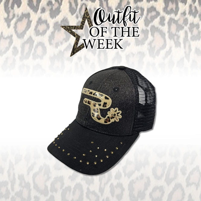 Ranchgirl Cap Black Leo