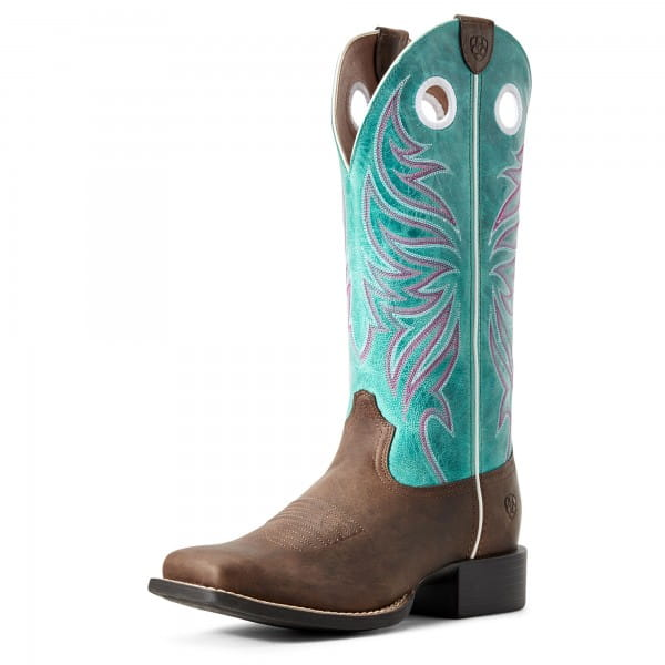 Ariat Womens Round Up Ryder Sassybrown