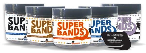 Super Bands in 5 Farben