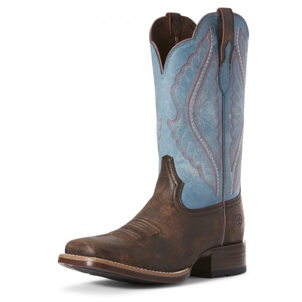 Ariat Womens Prime Time Westernboots Tack Room Chocolate