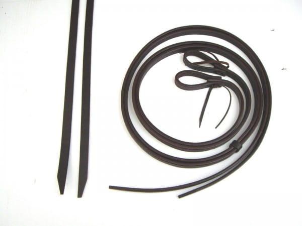 Latigo Split Reins Zügel - heavy / thick - 5/8