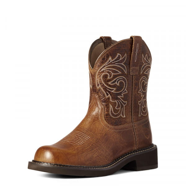 Ariat Womens Fatbaby Heritage Mazy Western Boot