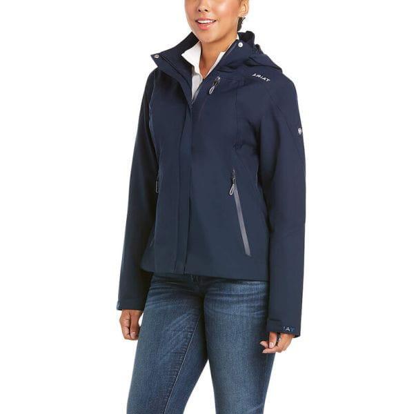 Ariat Womens Coastal Jacket H2O navy
