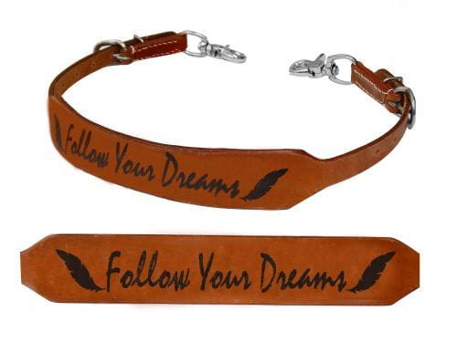 Nackenriemen - wither strap - Follow your dreams