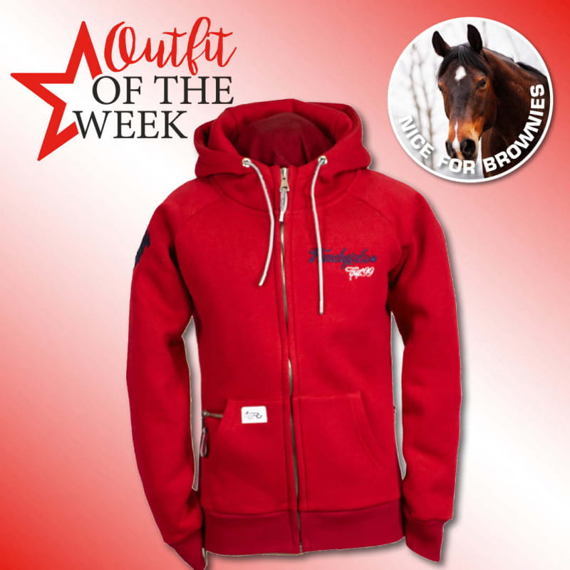 Ranchgirl Hooded Jacket Shilo Red