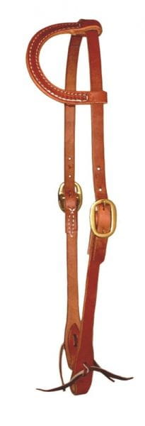 Ultimate Cowboy Gear Einohr Kopfstück Ranchwork Traditional