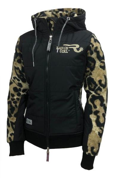 Ranchgirl ProShield Polarfleece Jacket Charlee Leopard