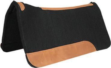 Mustang Black Felt Contoured Pad