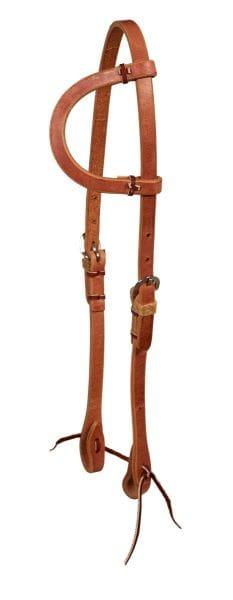 Ultimate Cowboy Gear Einohr Kopfstück Rowhide