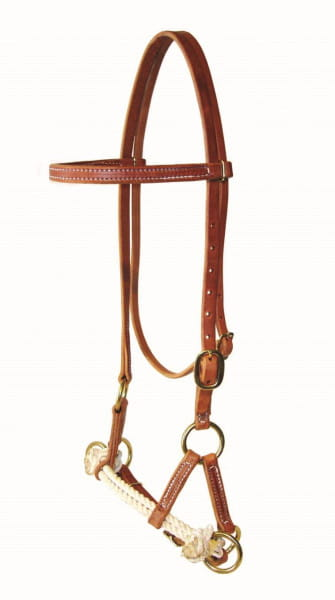 Ultimate Cowboy Gear Double Rope Sidepull