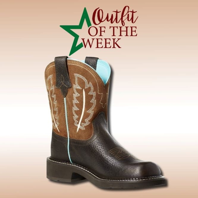 Ariat Womens Fatbaby Cottage