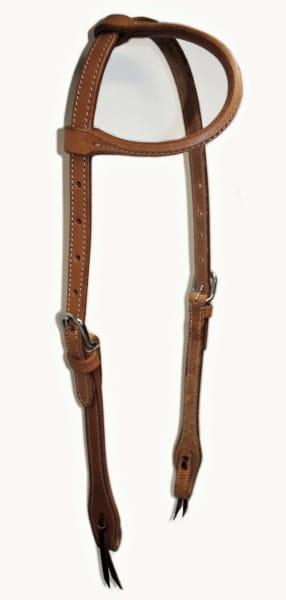 Einohr Kopfstück Herman Oak Leather
