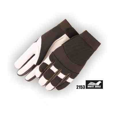 Goatskin Yellowstone Gloves - WHITE EAGLE