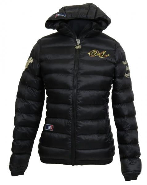 OSWSA Womens Hooded Padded Jacket Sophie black