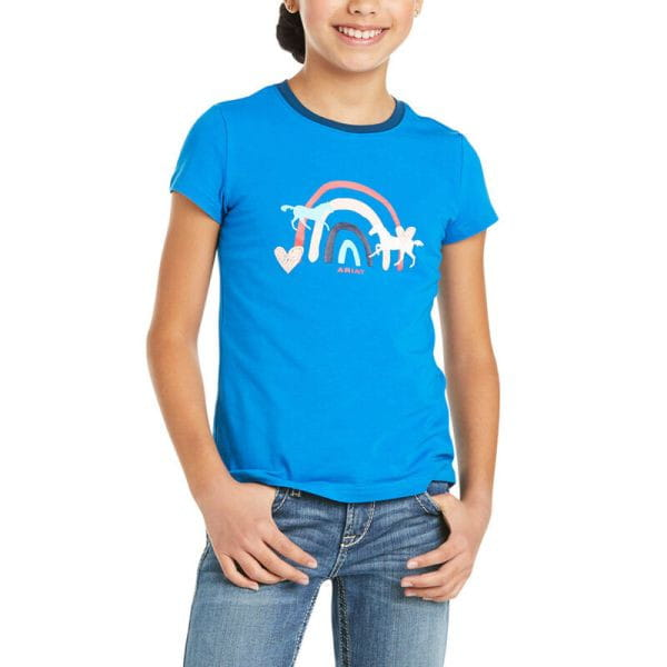 Ariat Youth T-Shirt Rainbow Wishes