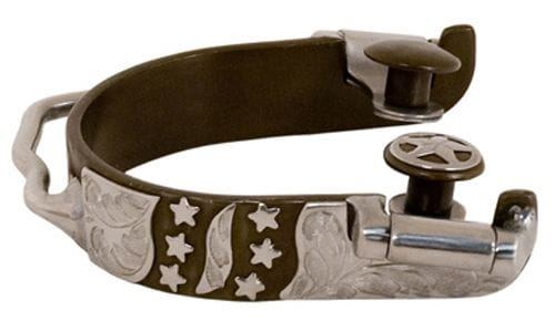 Lamicell Antique Stars Ladies Bumper Spurs