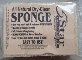 5 Star Equine - Sponge für die Haarentfernung bei Filzpads