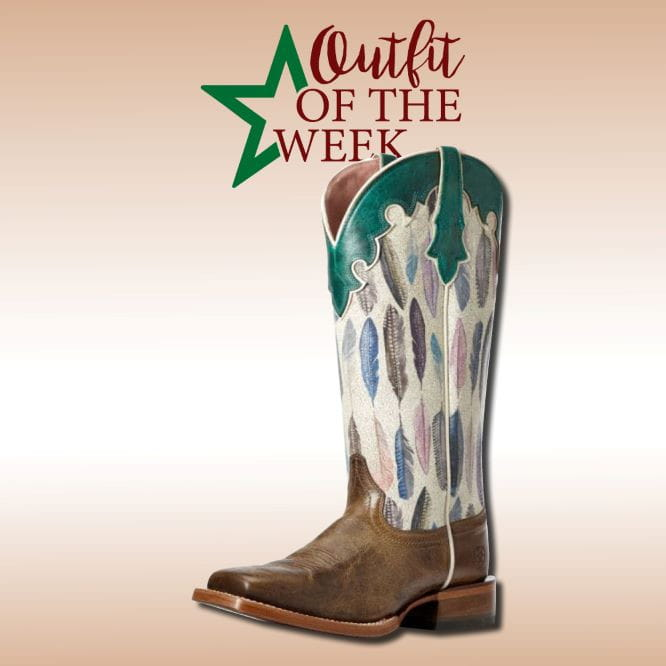 Ariat Womens Fonda Tucson Feather