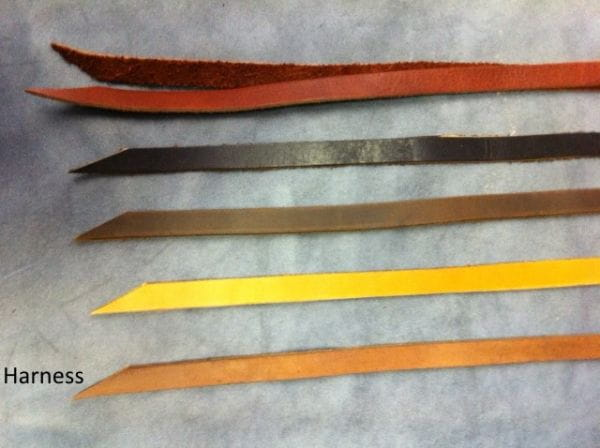 Buckaroo Leather Saddle String Harness