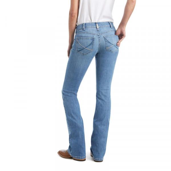 Ariat Womens Real Vivien Boot Cut Jeans