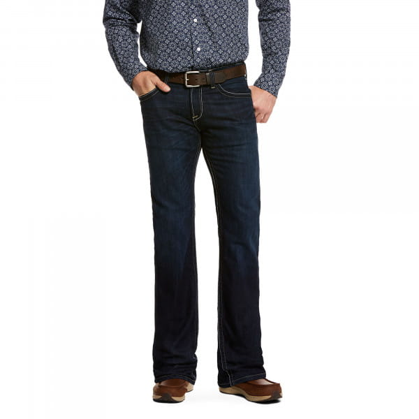 Ariat Mens M7 Rocker Stretch Blacksmith Straight Leg Jeans
