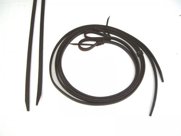 Split Reins 1/2 Latigo Leder heavy/thick