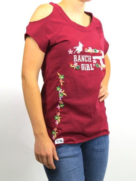Ranchgirl T-SHIRT MARY red