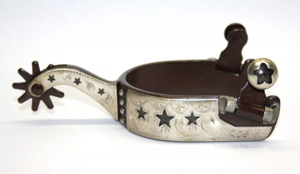 "KS""Antique Show Spurs – STARS"