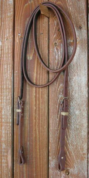 Famous Lined Roping Rein - längenverstellbar