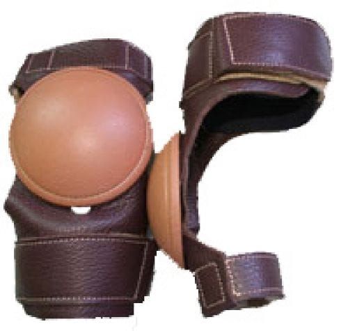 Classic Tack Leather Skid Boots
