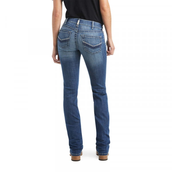 Ariat Womens Real Perfect Rise Cameryn Straight Jeans