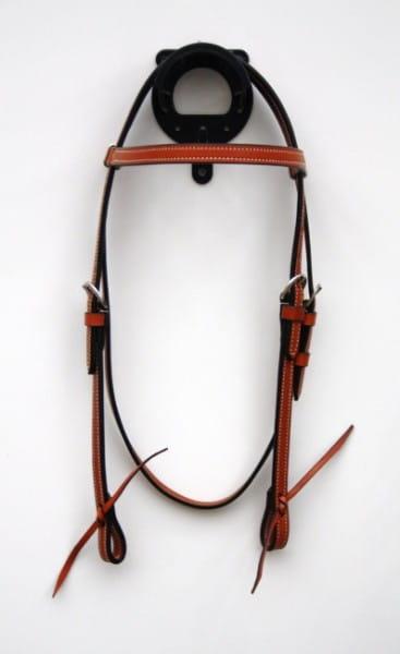 Eco Kopfstück - mittelbraun mit Stirnband