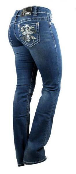 Rockin' Star Boot Cut Jeans