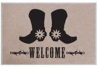 Fußmatte Boots 'n Spurs