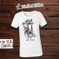 "PT-Limited-Edition ""Life is better with horses"" T-Shirt"
