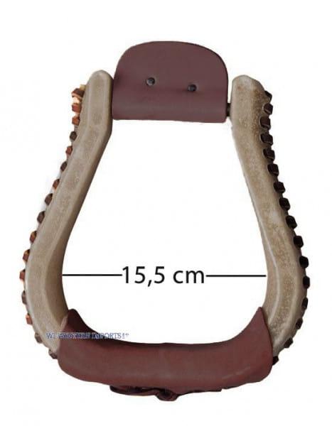 Rawhide Steigbügel XL