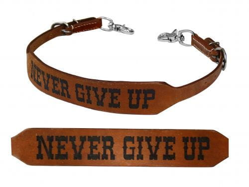 Nackenriemen - wither strap - Nerver Give Up