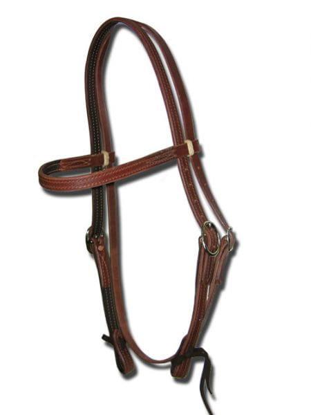 Buckaroo Famous Lined Browband Kopfstück
