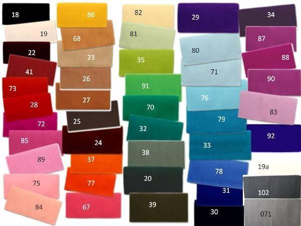 Mayatex Show-Blanket in allen Farben lieferbar