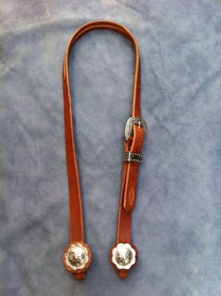 Buckaroo Leather Kopfstück Great Basin Slit Ear