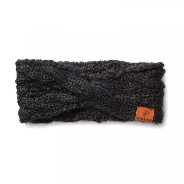 Ariat Womens Cable Headband black