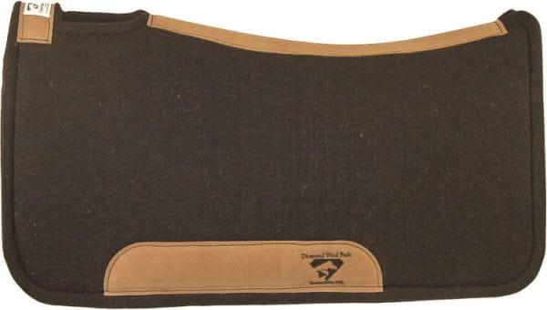 Diamond Wool Contoured Tough Pad Premium Wool 1 Inch