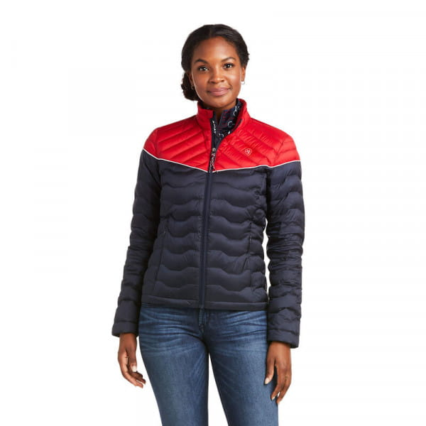Ariat Womens Ideal 3.0 Down Jacket colorblock