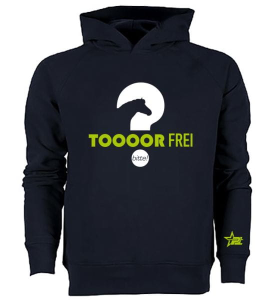 Toooor Frei - Is frei Hooded Sweatshirt
