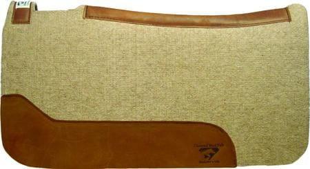 Diamond Wool Contoured Cowboy Pad 3/4 Inch