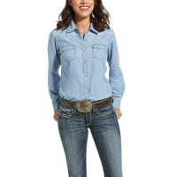 Ariat Womens REAL Fierce Shirt indigo